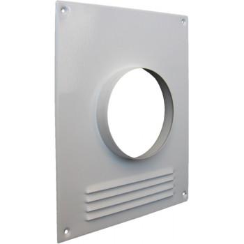 Era 100ПТМР Торцевая стальная площадка для круглого воздуховода с решеткой (Ø100 мм, сталь)