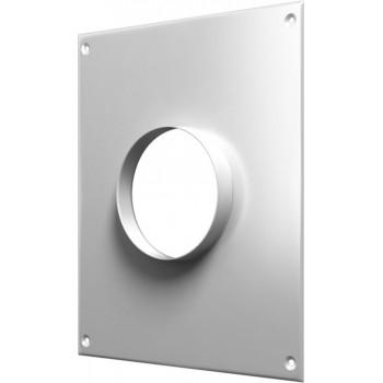 Era 100ПТМ Торцевая стальная площадка для круглого воздуховода (Ø100 мм, сталь)