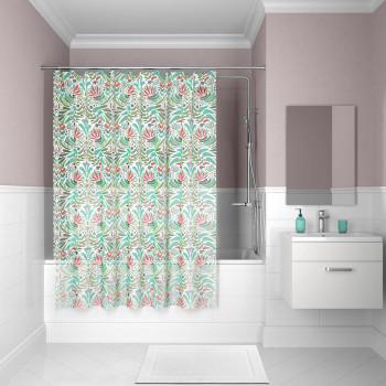 Штора для ванной комнаты, 180*180см, PEVA, P09PV11i11, IDDIS