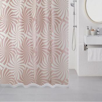 Штора для ванной комнаты, 180*180 см, PEVA, Amazing Pattern (cream), Milardo, 504V180M11
