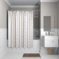 Штора для ванной комнаты, 180*180см, полиэстер, B14P118i11, IDDIS