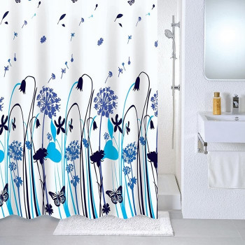 Штора для ванной комнаты, 180*180 см, PEVA, Summer midday, Milardo, 535V180M11