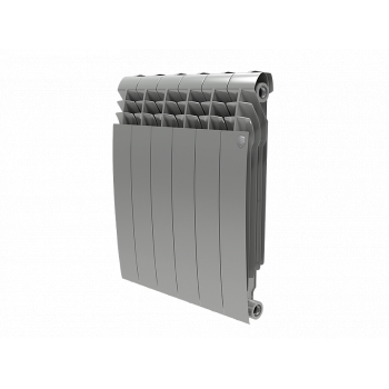 Радиатор Royal Thermo BiLiner 500 Silver Satin 4 секц.