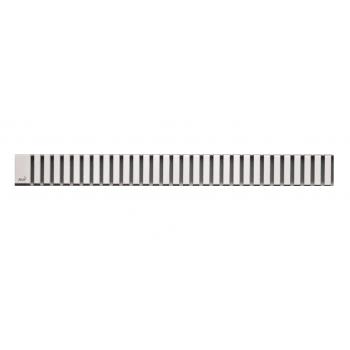 LINE-550L Решетка для водоотводящего желоба (Нержавеющая сталь глянцевая)