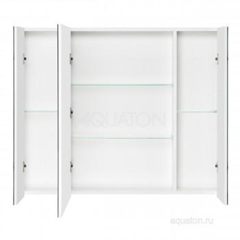 Зеркальный шкаф Aquaton Беверли 100 белый 1A237202BV010
