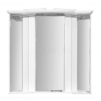 Зеркальный шкаф Aquaton Альтаир 62 белый 1A042702AR010