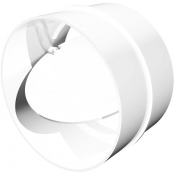 Era 10СКПО Держатель-соединитель круглый с обратным клапаном (Ø100 мм, пластик)
