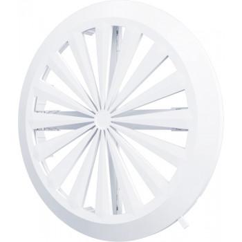 Era 10RKU Решетка вентиляционная регулируемая Ø90-160 мм (пластиковая, круглая)