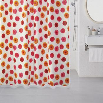 Штора для ванной комнаты, 180*180 см, PEVA, Sunny Gerbera, Milardo, 502V180M11