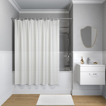 Штора для ванной комнаты, 180*180см, PEVA, P10PV11i11, IDDIS