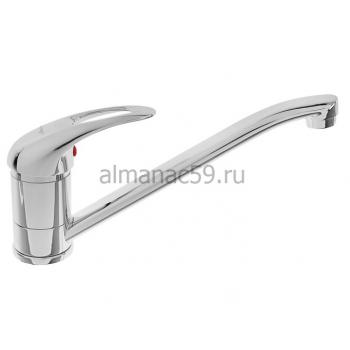 Cмеситель для кухни Accoona A5140, однорычажный, силумин, хром