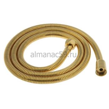 Душевой шланг Accoona G64, 150 см, цвет золото