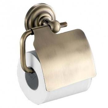 Держатель туалетной бумаги Fixsen Retro FX-83810 с крышкой