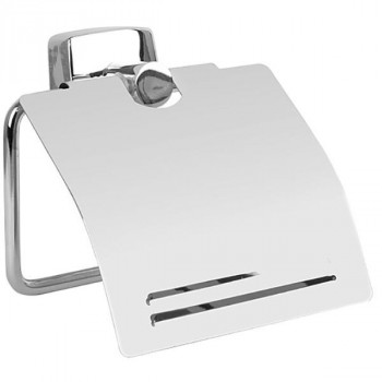 Держатель туалетной бумаги Fixsen Kvadro FX-61310 с крышкой
