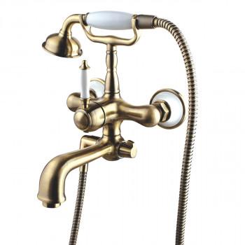 Cмеситель для ванны (латунь с покрытием - бронза) картридж 35 мм Sedal, Villa, Lemark, LM4812B