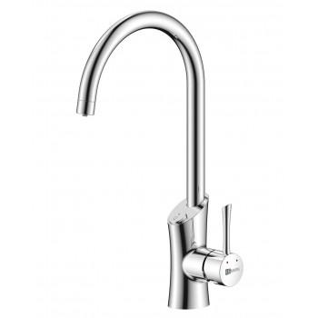 Смеситель для кухни, с подключением к фильтру питьевой воды, хром, Comfort, Lemark, LM3072C