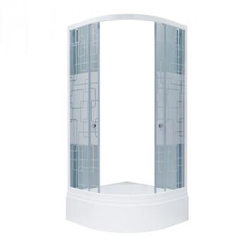 Душевой уголок Triton Стандарт 90х90 В квадраты