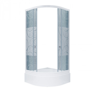 Душевой уголок Triton Стандарт 90х90 В узоры